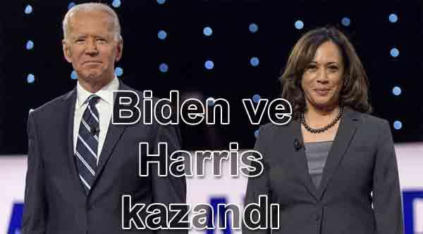 Joe Biden ve Harris Kazandı