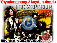 Led Zeppelin'in yay�nlanmam�� �ark�lar� bulundu