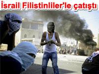 �srail polisi Do�u Kud�s'te Filistinlilere m�dahale etti
