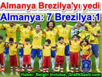 Almanya Brezilya'y� bildi�in yedi (7) Almanya:7 Brezilya:1 haber Belgin El�io�lu Invictus
