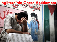 �ngiltere'nin Gazze A��klamas�