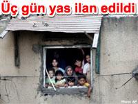 Gazze i�in T�rkiye'de �� 3 g�n yas ilan edildi