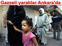 Gazzeli yaral�lar T�rkiye'de tedavi alt�nda