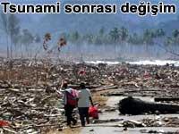 Tsunami sonras� de�i�im | BBC video haber